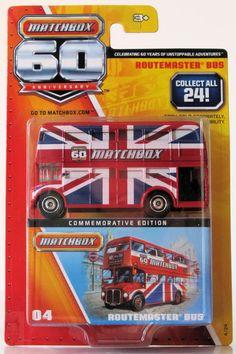 2013 Matchbox 60th Anniversary # 4 Routemaster Bus