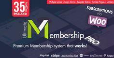 Ultimate Membership Pro es el conocido y mejor plugin de membresía de WordPress que le permite crear y trabajar con acceso exclusivo de múltiples niveles para sus usuarios en base a paquetes simples gratuitos o paquetes pagados.