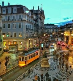 Chiado night 🚋 ~ Lisbon, Portugal Photo: Congrats 💖 Founders: 🚩Have you ever visited this enchanting city? Lisbon Tram, Lisbon Tours, Portugal Travel Guide, Portuguese Culture, S Bahn, Destination Voyage, Vacation Places, Best Cities, Luxury Real Estate