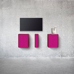 Pink - Sound - Hi-fi - Hidden speakers - Tv - Montana - Design