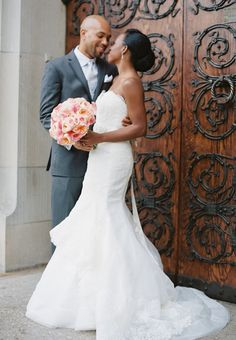 Brides: One couple's real wedding at The Foundry in Long Island City, New York