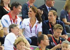 Kate Middleton & Prince William's PDA At The Olympics Is Too Cute For Words (PHOTOS)