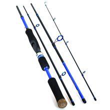 Luremaster Lure Rod 2.1m2.4m2.7m (4-Section, Medium) Carbon Fiber Travel Mate Spinning Fishing Rod Vara De Pesca Carp(China (Mainland))