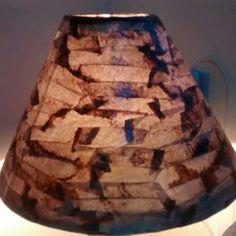 Cúpula em filtros de café usados