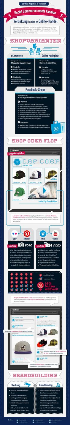 Social Commerce: Facebook als Verkaufsplattform [Infografik]