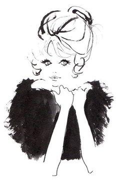 2015年07月|そのスピードで Barbie, Cute Black Wallpaper, Side Tattoos Women, Woman Illustration, Sketch Inspiration, Illustrations And Posters, Fashion Sketches, Cartoon Art, Fashion Pictures
