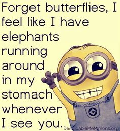 Here are Funniest Minions Picure quotes and Hilarious memes of the week, share them and enjoy them ALSO READ: Top 30 Funny Minion Quotes ALSO READ: 30 Funny Memes about Minions Funny Minion Memes, Minions Quotes, Minion Humor, Cartoon Quotes, Minions Love, Cute Funny Quotes, Quote Of The Week, Words Quotes, Sayings