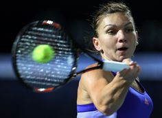 Top-seeded Simona Halep beat Caroline Wozniacki 2-6, 6-1, 6-1 on Friday to reach the Dubai Tennis Championships final. Halep will face 17th-seeded Karolina Pliskova in Saturday's final. Halep is looking for her second title of the year, having won in Shenzen the first week of the season. ''When I started the match I started with a bad tactic,'' Halep said.