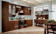 drewniana kuchnia - Szukaj w Google