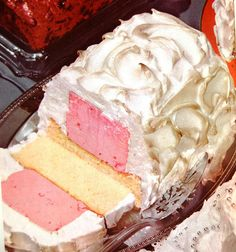 """I have always wanted to try my hand at this! Betty Crocker's """"Easy Baked Alaska"""". #vintage #food #dessert"""