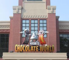 Hershey Factory Tour, Hersey Pennsylvania ~ Awesome Tour & its FREE! So much chocolate...so little money.