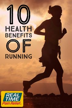 We all know that running is good for you, but exactly how good is it?  #RealTimePainRelief #RealTimeRunners