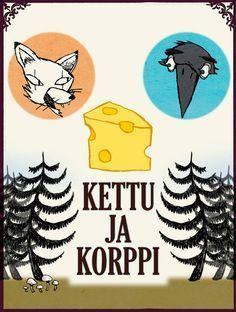 Kettu ja korppi   Papunet Fairy Tale Story Book, Fairy Tales, Early Childhood Education, Storytelling, Literacy, Kindergarten, Language, Activities, School