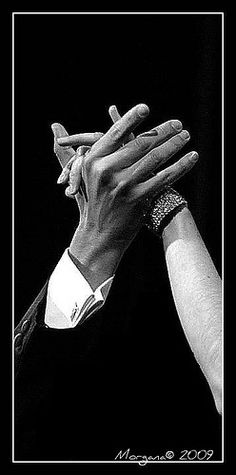 Argentine Tango ... you must hold hands!
