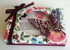 Card box with Painted Blooms DSP https://astampingjourney.wordpress.com/2015/05/26/painted-blooms-boxed-set/