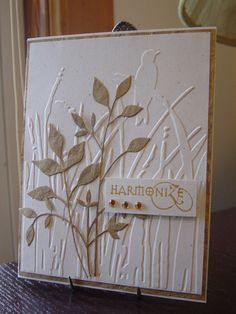 From Splitcoast...love the simplicity of this card!