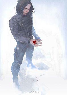 captain america Bucky / Soldat de l'hiver