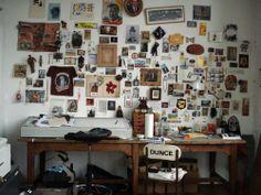Wes Lang's studio
