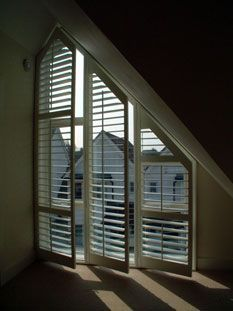 Bespoke, made to measure interior plantation shutters