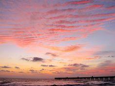 Sunrise over Jacksonville Beach, FL