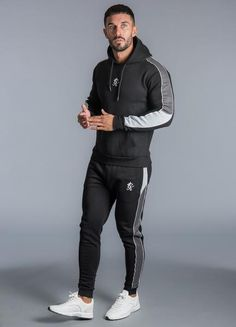 GK Gambino Pullover Hoodie Black New Gym King 2018 Collection Mens hoodie Pull Track Pants Mens, Track Suit Men, Gym Outfit Men, Pullover Hoodie, Hoody, Casual Wear For Men, Mens Sweatpants, Adidas Outfit, Fitness Logo