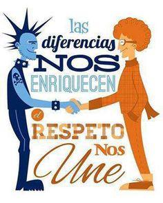 object pronouns (diferencias y respeto) Anti Bullying, Spanish Classroom, Teaching Spanish, Spanish Memes, Spanish Quotes, Spanish Pictures, Spanish Posters, Coaching, Sentences