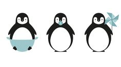 Nannak - mariadiamantes #kids #illustration #decoration #room #mariadiamantes #penguin #design #pinguino #cute