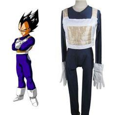Dragon Ball Vegeta Battle Dress Cosplay Costume