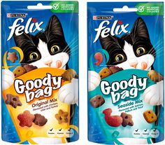 Spanish Food Prodespa: Special Offer: Felix Goody Bag- Ex- Work Pet Branding, Personal Hygiene, Spanish Food, Goodie Bags, Goodies, Design, Products, Sweet Like Candy, Gummi Candy