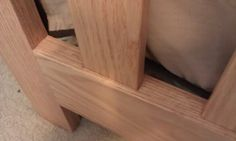 Mortise and tenon joinery