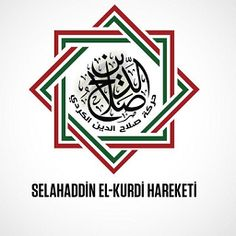 The same color code as the Kingdom of Kurdistan is used today by Salahaddin El-Kurdi Hareketi, a Sunni rebel group of mainly Kurdish fighters formed in 2015 that takes part in the Syrian Civil War. The group mostly operates in northwestern Syria and has a Rubʿ ḥizb as its emblem. Syrian Civil War, Kurdistan, Rebel, Persian, Coding, Group, Colors, Persian People, Persian Cats