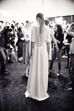 BACKSTAGE MOMENTS ~~ SPRING 2012 ioulex's New York fashion week photo diary. @The New York Times