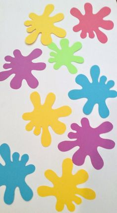 Slime Party Splat Cutouts or guirlanda / Banner / Bunting / Slime Sign / Tween Birthday / Sweet 16 / Decorations / Ghostbusters / Theme Party Queen - Scuola - Happy Birthday Parties, Art Birthday, Birthday Bunting, Birthday Ideas, Sweet 16 Decorations, Birthday Decorations, Bat Mitzvah Party, Bar Mitzvah, Pyjamas Party