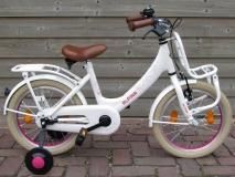 Meisjesfietsen 16 inch, meisjesfiets 16 inch, fiets 16 inch.