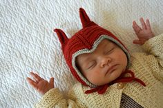 I wish I had this hat for C. How awesome is this?