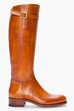 tan leather riding boots...perfect for fall