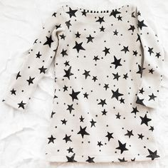 star tunic. pair it with some bright colored tights? AWESOME  ADORABLE!!!
