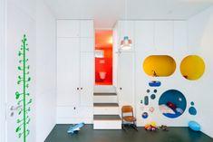 runde öffnung ideen für schlafecke im kinderzimmer