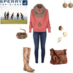 """Weekend Wear with Sperry Top-Sider"" by animalsc on Polyvore    Outfit Created by Me"
