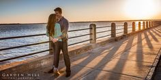 We finished up this engagement session at the Charleston Battery with the golden sunset that only happens this beautiful in Charleston SC. Here is ur favorites from the series.