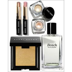 The Bobbi Brown Miami Makeup Collection Summer 2012 for a gorgeous... ❤ liked on Polyvore featuring beauty products, makeup, face makeup, beauty, accessories, make and bobbi brown cosmetics