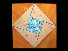 Puzzle-Paradox Mosaic -- this Tangram-like set was created by Serhiy Grabarchuk in 2008 (www.ageofpuzzles.com/Puzzles/HoleySquareFamily/HoleySquareFamily.htm). In 2010 the puzzle was nicely origaminized by Francis M. Y. Ow (http://www.nickrobinson.info/clients/owrigami/show_diagram.php?diagram=paradox). Using the full set every time, we can form different sets of squares and a lot of different shapes. You can flip pieces over, but not overlap.