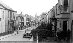 Barnstaple, Bear Street and Post Office c1940