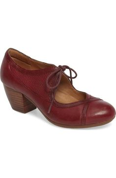 eeed7bc13 Comfortiva Almyra pump - Cranberry Red Vintage Heels, Women's Pumps, Red  Shoes, Vintage