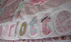 pink penguin quilt