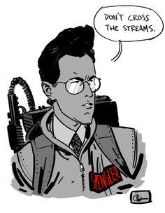"""Egon Spangler - Ghostbusters - Evan """"Doc"""" Shaner"""