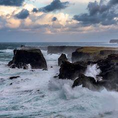 Eshaness rugged & wild, Shetland, Scotland