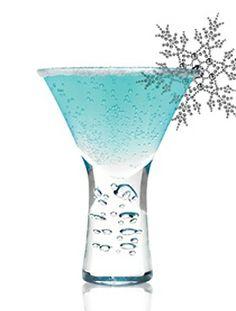 Future Freeze    1 1/2 oz. Svedka Vodka  1 oz. Blue Curacao  1/2 oz Fresh Lemon Juice  4 oz. Sprite    1. Mix all ingredients in shaker. Shake and strain into a martini glass.