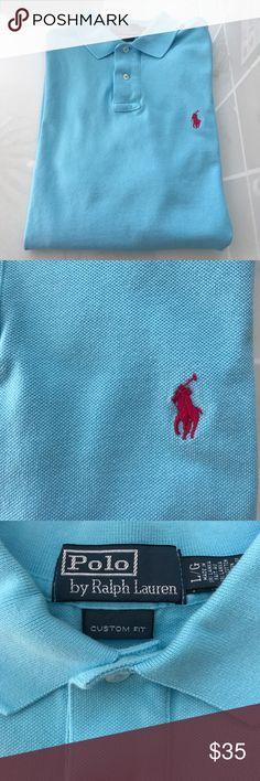 Polo Ralph Lauren Polo Shirt Polo Ralph Lauren Polo Shirt. Large - Custom Fit Polo by Ralph Lauren Shirts Polos