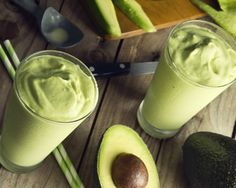 Inghetata de avocado